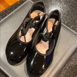 Capezio girls tap shoes
